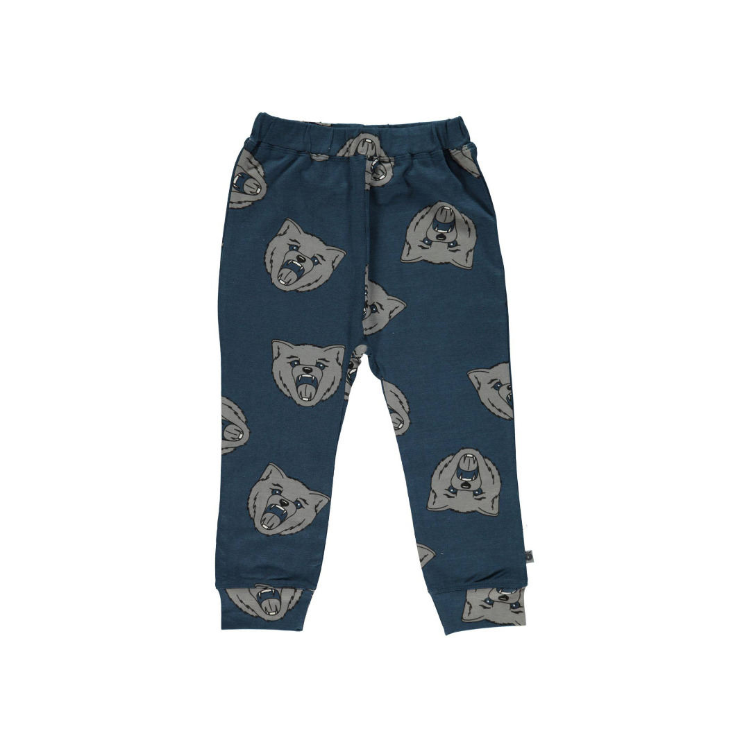SMAFOLK Kinder Hose Pants Wolf print