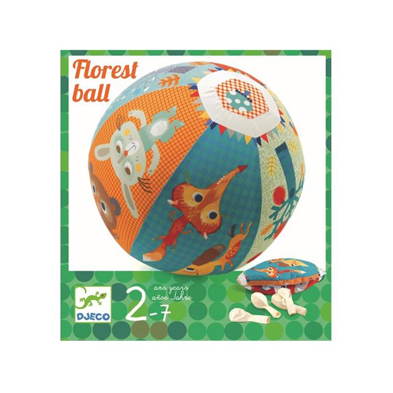 DJECO Luftballonhülle Pop Ballon Foret Tiere