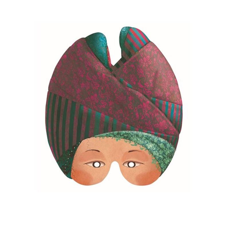 DJECO Masken feine Damen 2
