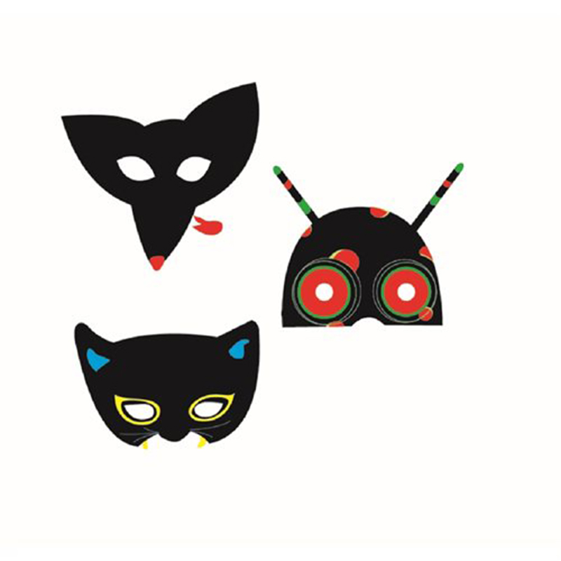DJECO Masken Tiere 5