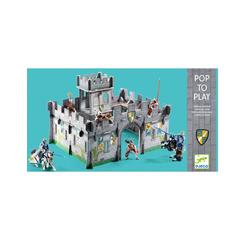 Djeco Pop to play: Medieval castle