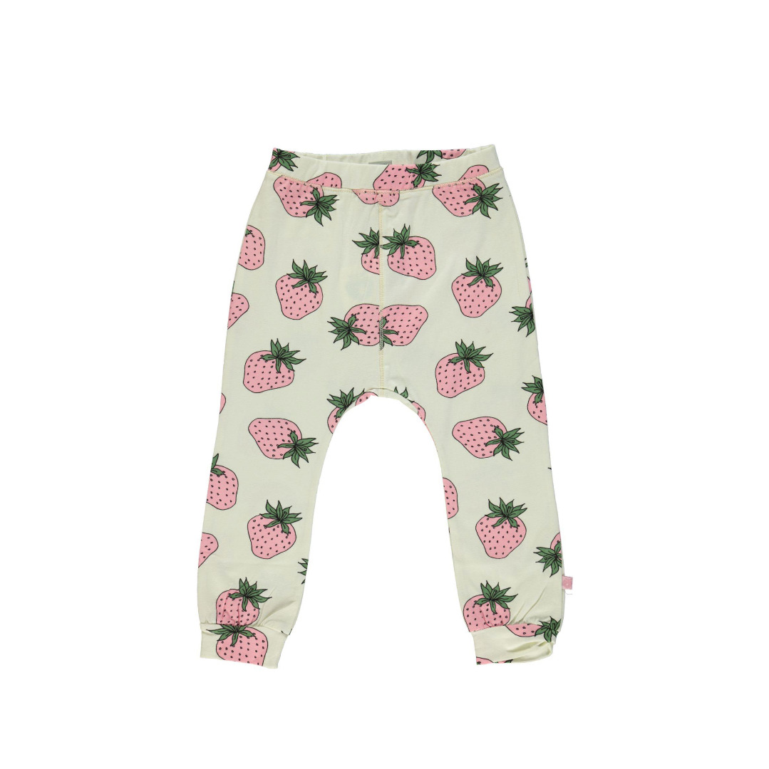 SMAFOLK Kinder Hose Pants Strawberry Cream