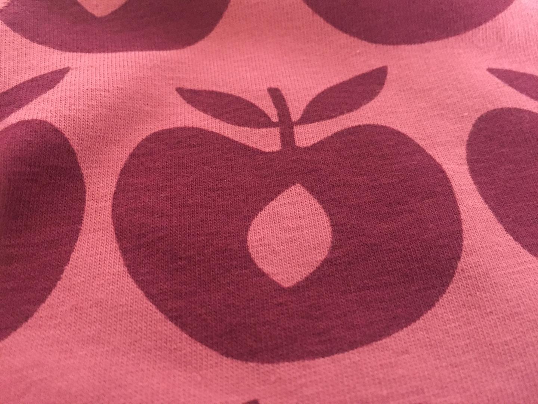 Smafolk Baby Strampler Spieler Jumpsuit Äpfel Mesa Rose - 3