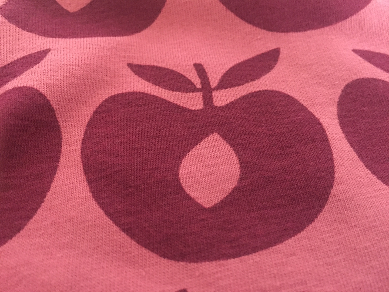 Smafolk Baby Body Langarm Äpfel Mesa
