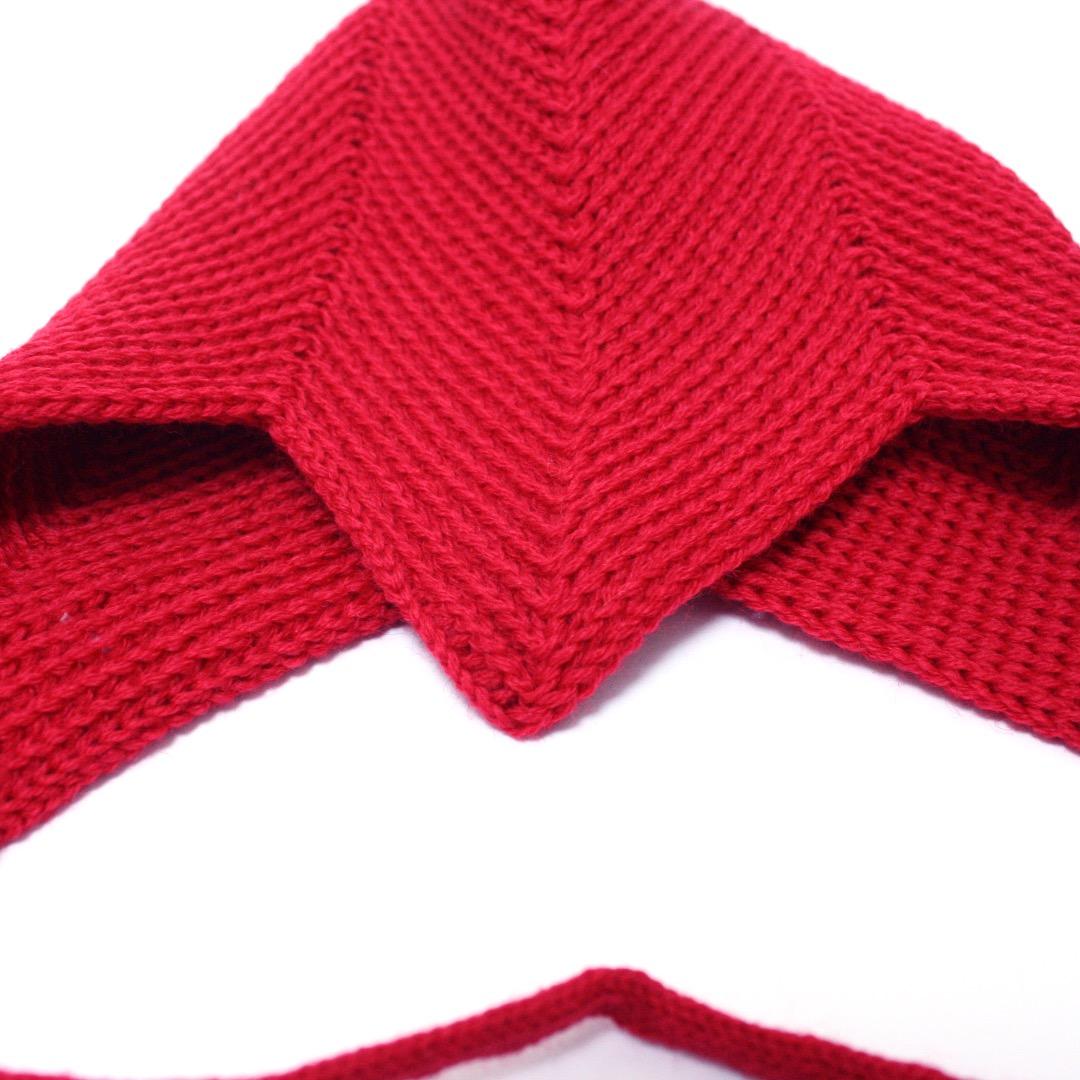 REIFF STRICK Baby Mütze Teufelsmütze burgund - 4