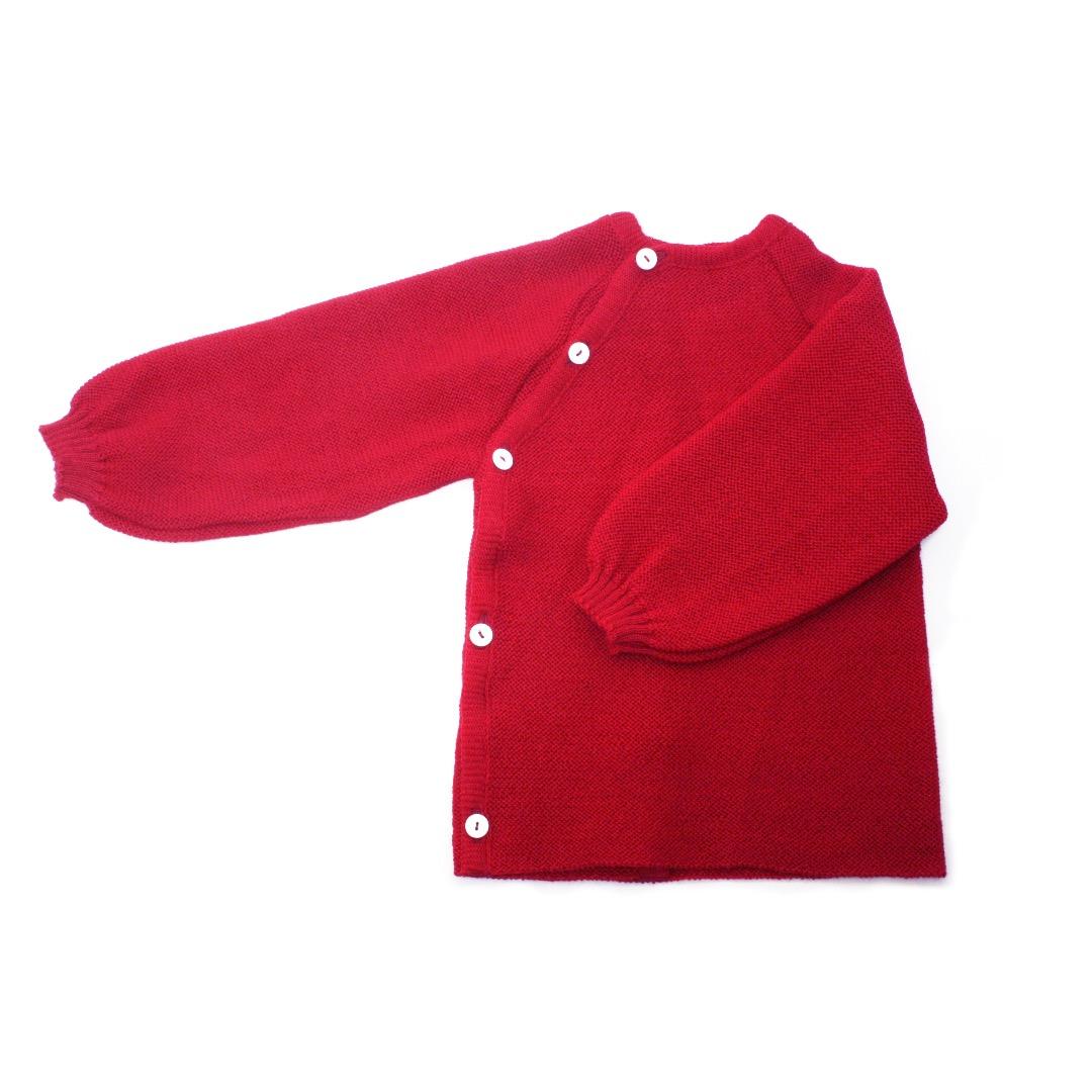 REIFF STRICK Baby Pullover Schlüttli burgund