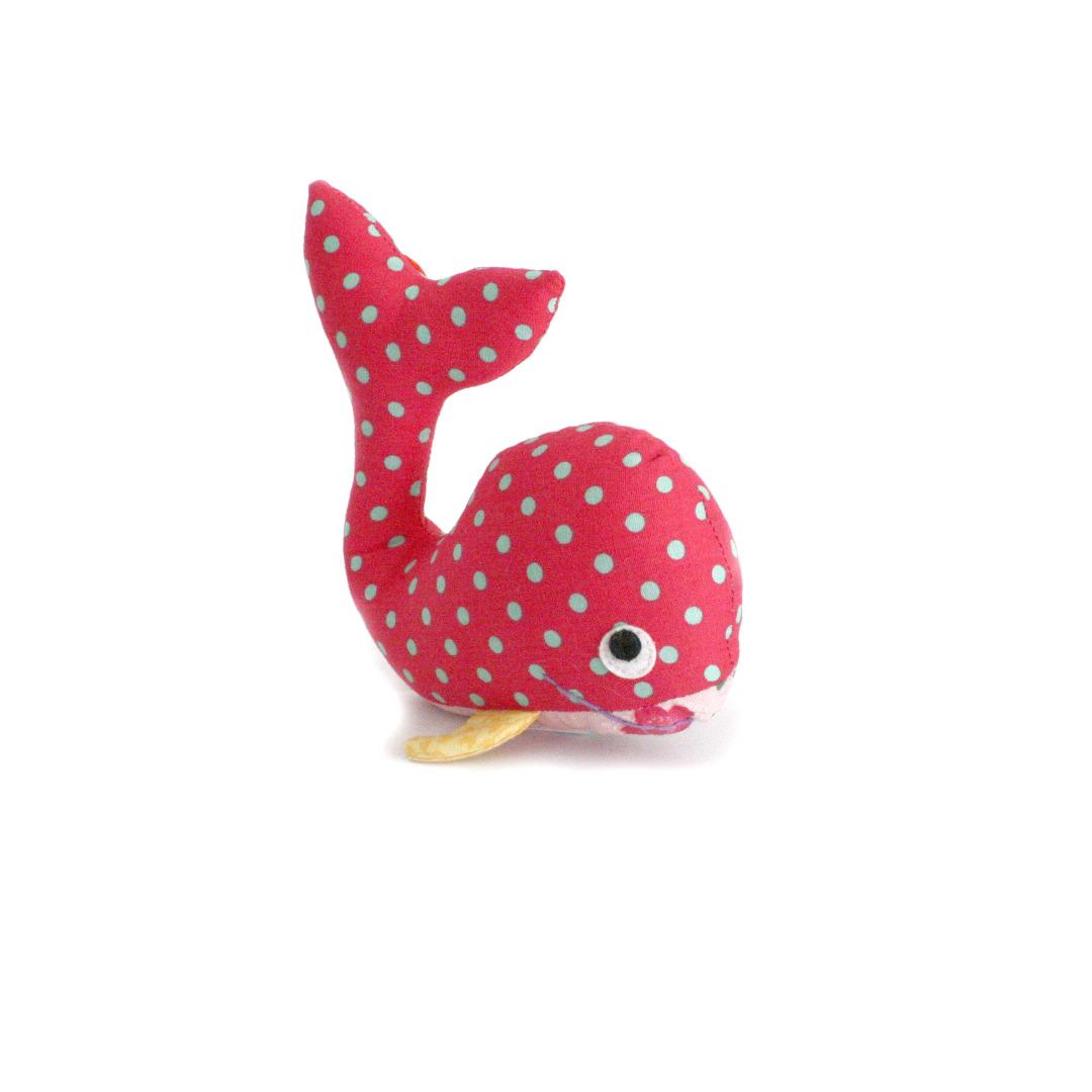 HickUps Babyrassel Wal pink 2