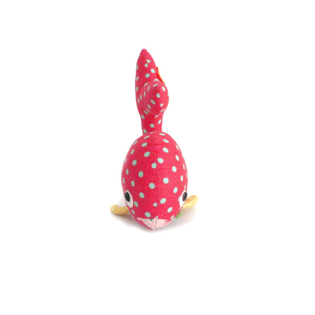 HickUps Babyrassel Wal pink 3