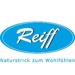 REIFF STRICK Baby Wickeltuch Babydecke burgund/natur