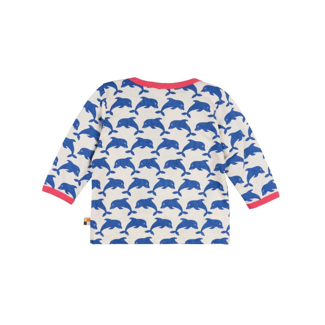 LOUD PROUD Baby Langarm-Shirt Delfine pacific - 2