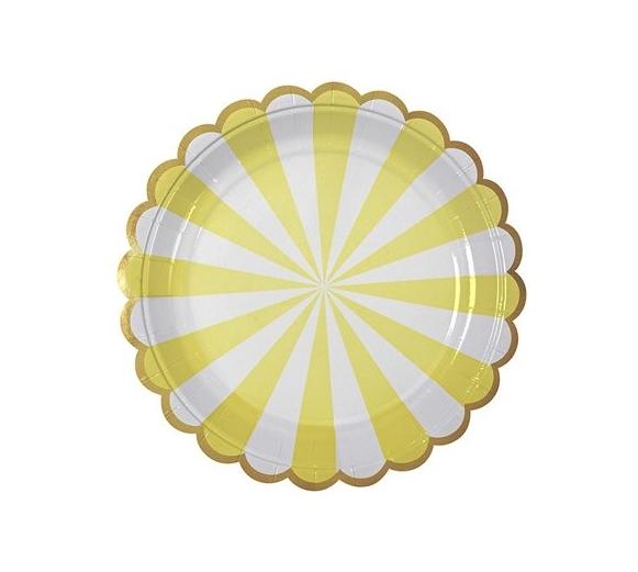 MERI MERI Teller gross mit Streifen - 1