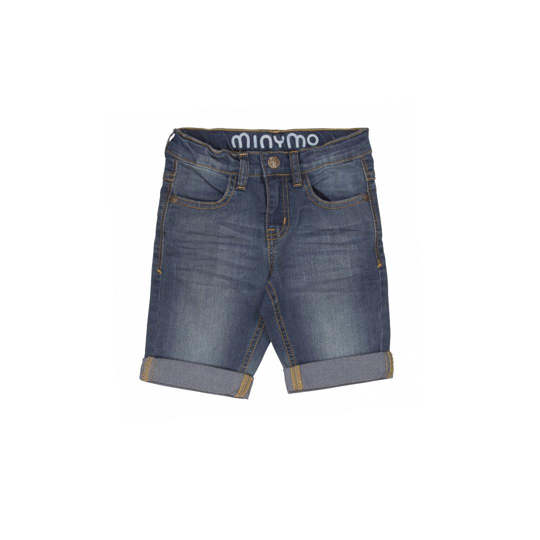 MINYMO Malthe Shorts denim - 1