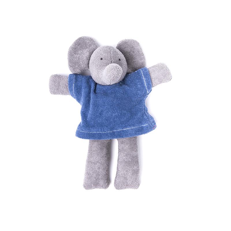 NANCHEN NATUR Ele Elefant blau Bio