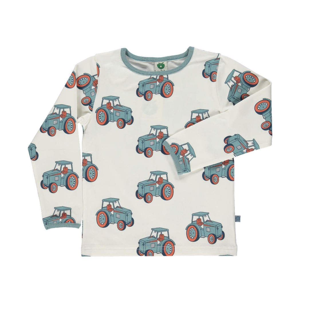 SMAFOLK Baby Shirt l/s mit Traktor
