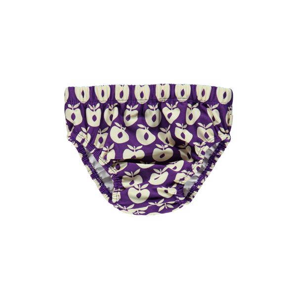 SMAFOLK Baby Schwimmwindel Badehose lila