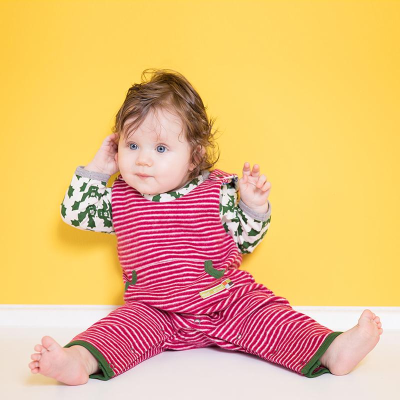 LOUD PROUD Baby Jacke Ringel geschmirgelt