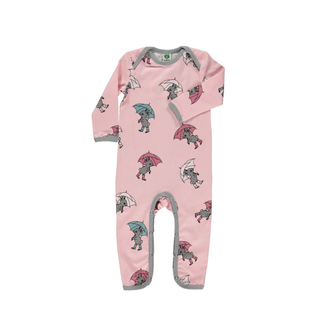 Smafolk Baby Strampler Spieler Jumpsuit Hase - 1