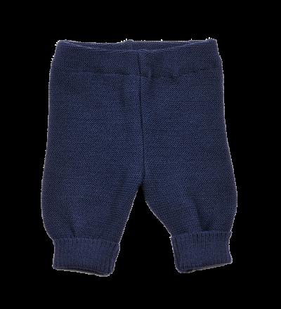 REIFF STRICK / Baby Leggings Hose marine 50-68 Merino-Schurwolle kbT
