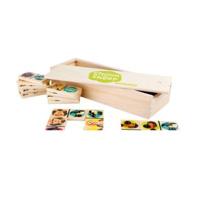 Shaun das Schaf Domino Holzbox