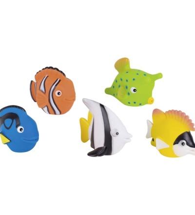 Wasserspritztiere Aqarium Doktorfisch Kofferfisch Clownfisch Halfterfisch Fuchsgesichtfisch