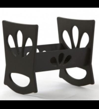 GOMMINI Wiegentisch schwarz SALE auf Ausstellungsstück