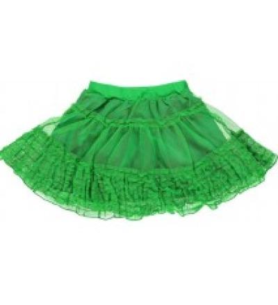 SMAFOLK Kinder Tüllrock grün