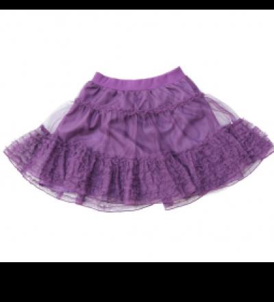 SMAFOLK Kinder Tüllrock lila