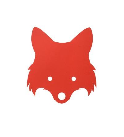 Ferm Living Fox Lamp - Red Orange Kinderlampe