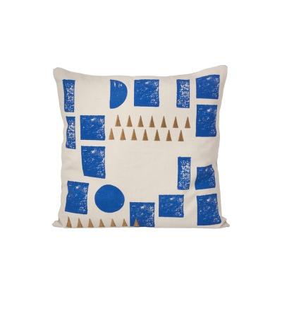 FERM LIVING Kissen Block Cushion mint 100 Bio-Baumwolle 40 x 40