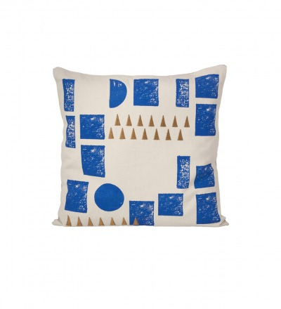 FERM LIVING Kissen Block Cushion mint
