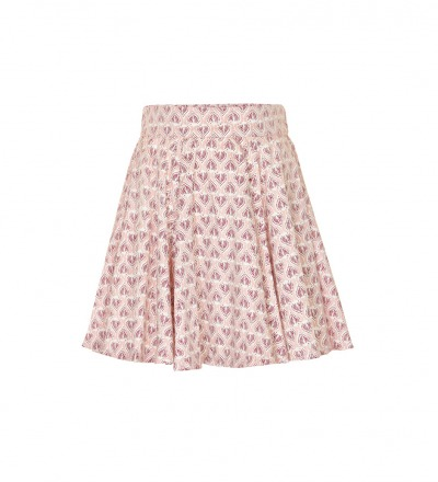 CREAMIE Rock Ditte Skirt rosé/bordeaux