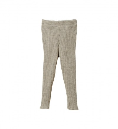 DISANA Strick-Leggings grau 100 Merino-Schurwolle kbT - Made in Germany