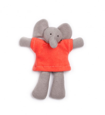 NANCHEN NATUR Ele Elefant rot Bio Made in Germany - Made in Germany