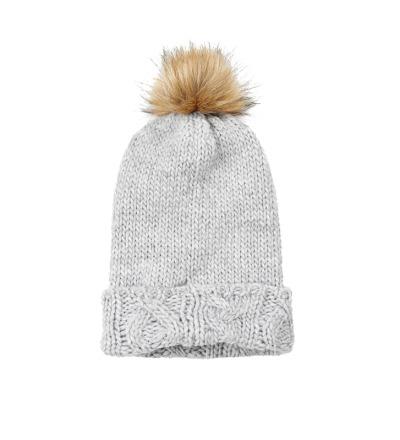 CREAMIE Mütze Judith hat grau