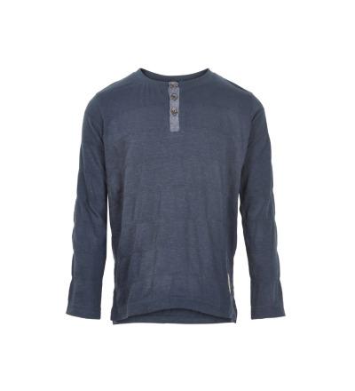 MINYMO Shirt mit Knopfleiste dunkelblau