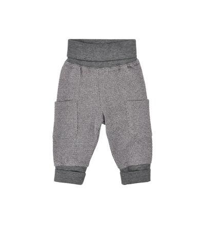 MINYMO Hose Mace Sweat pants grau BIO