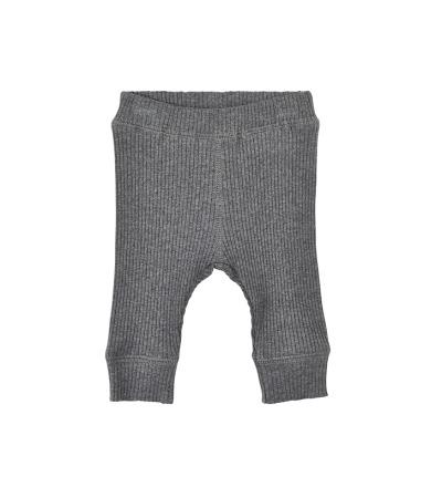 MINYMO Mace Baby Leggings pants Hose grau 100 Bio-Baumwolle