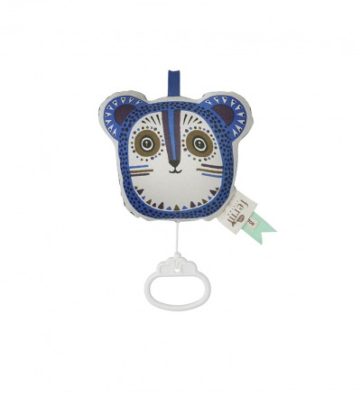 Ferm Living Billy Bear Music Mobile - Blue