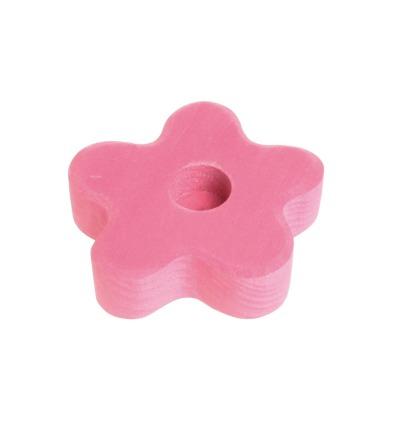GRIMM S Lebenslicht Blume rosa Geburtstagsdeko