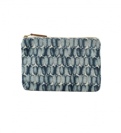 HOUSE DOCTOR Cosmetic bag, Braid, blue 23x16 cm