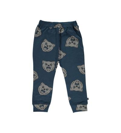 SMAFOLK Kinder Hose Pants Wolf print Majolica