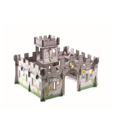Djeco - Pop to play Medieval castle 3D