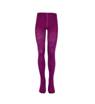 Mala Mädchen Strumpfhose purple/lila Punkte