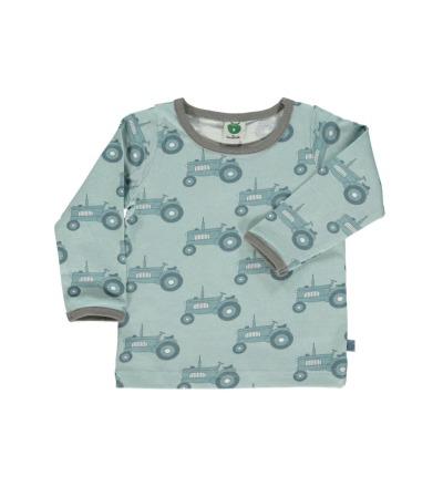 SMAFOLK Kinder Langarm Shirt Traktor Ether