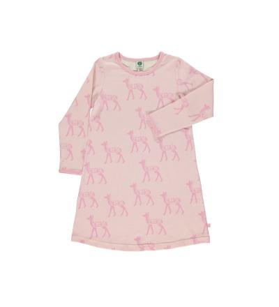 SMAFOLK Kinder Kleid Rehe Kitz Deer /rosé