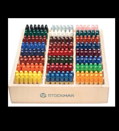 STOCKMAR Wachsmalstifte / je Stück - 24 verschiedene Farben - Made in Germany