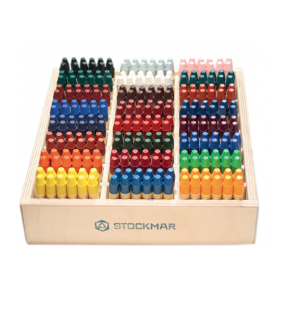 STOCKMAR Wachsmalstifte / je Stueck - 24 verschiedene Farben - Made in Germany