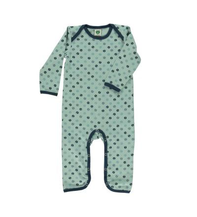 Smafolk Baby Strampler Spieler Jumpsuit mini Äpfel Ether