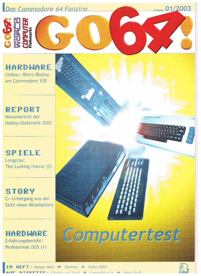 Ausgabe 01/03 - 2003