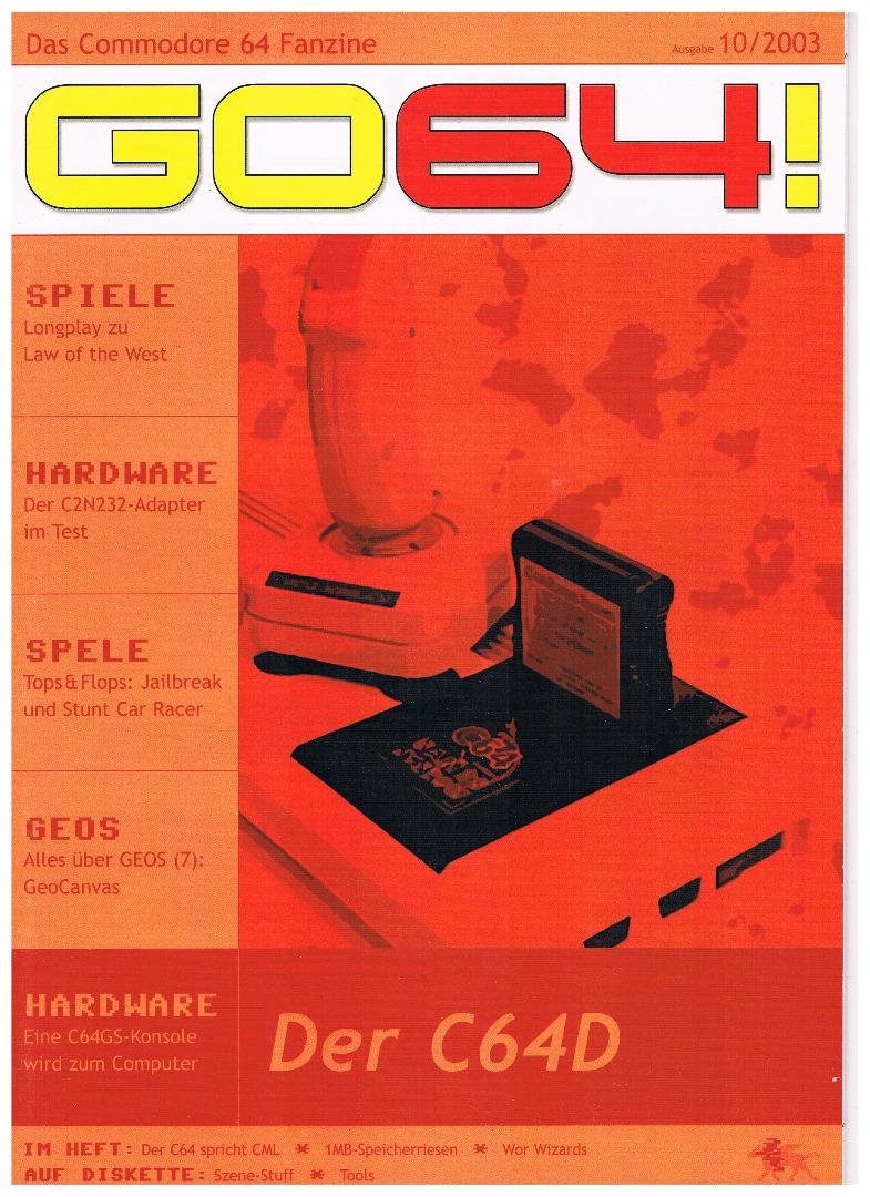 Ausgabe 10/03 - 2003